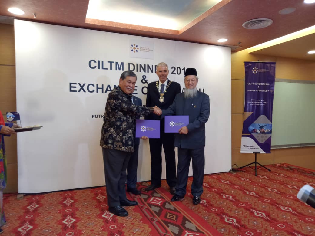 Exchange of Agreements with CILTM – NMUC to be the Malaysia's Southern Region Centre for the Professional Institute