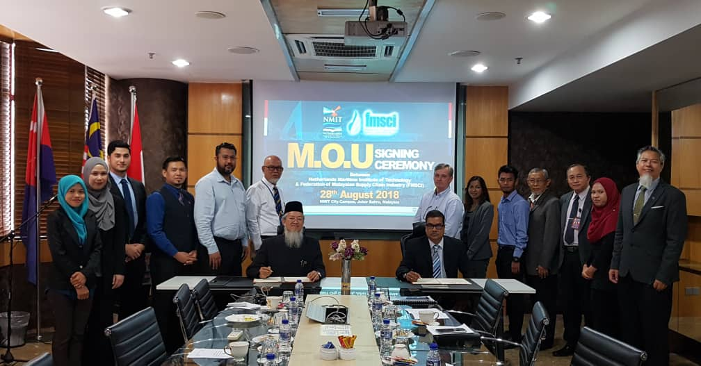 MOU Signing with the Federation of Malaysian Supply Chain Industry (FMSCI)