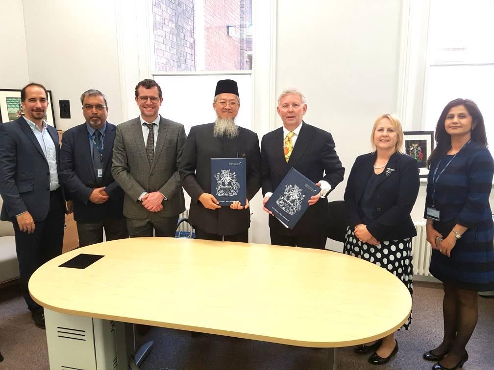 MOU Signing with Nottingham Trent University of UK