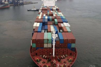 The global shipping industry is posting its strongest daily earnings since 2008